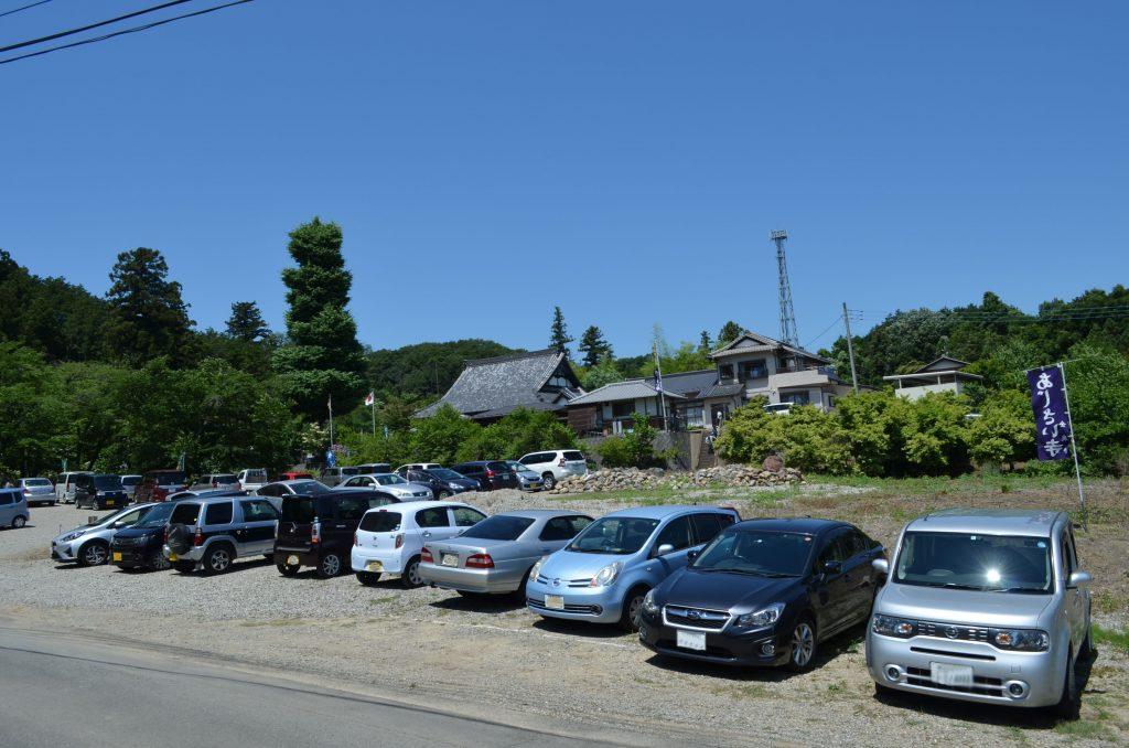 嵐山町金泉寺(あじさい寺)駐車場
