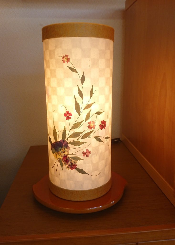 モダン提灯 夢想花 小川和紙使用の盆提灯
